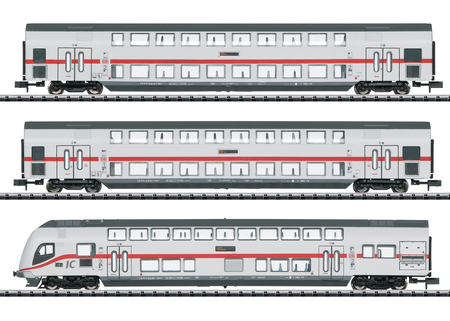 "Trix 15385 - ""IC 2"" Bi-Level Car Set"