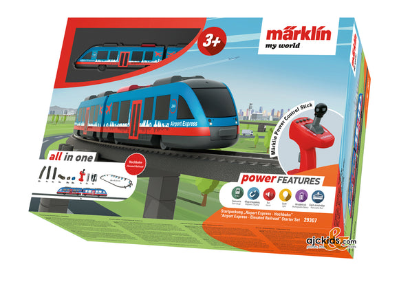 Marklin 29307 - Märklin my world Airport Express -Elevated Railroad Starter Set