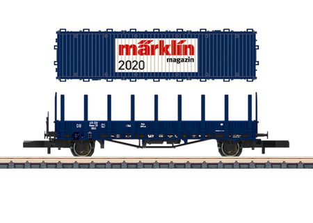 Marklin 80830  - Märklin Magazin Z Gauge Annual Car for 2020