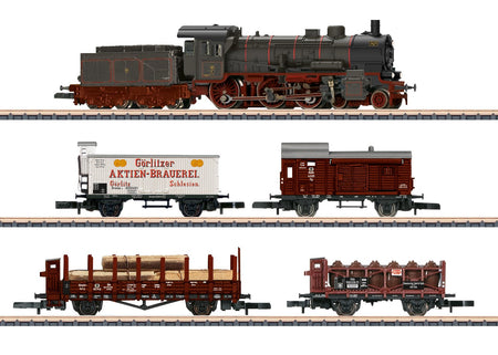 Marklin 81302  - K.P.E.V. Provincial Railroad Freight Train Set