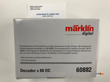 Marklin 60882 - s 88 DC Decoder (2-Rail)