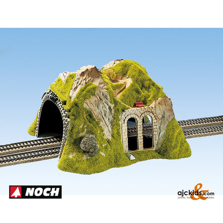 Noch 02430 - Tunnel Double Straight 17cm High