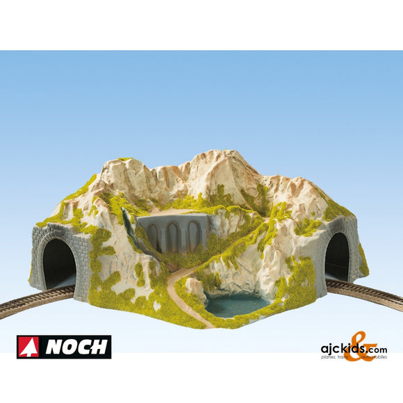 Noch 05130 - Tunnel Single Curved 20cm High