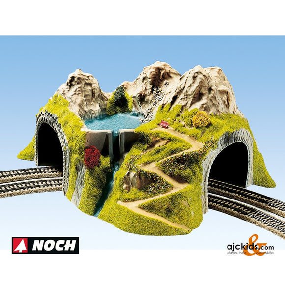 Noch 05180 - Tunnel Double Curved 23cm High