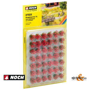 Noch 07025 - Grass Tufts XL Bloom Red 42/