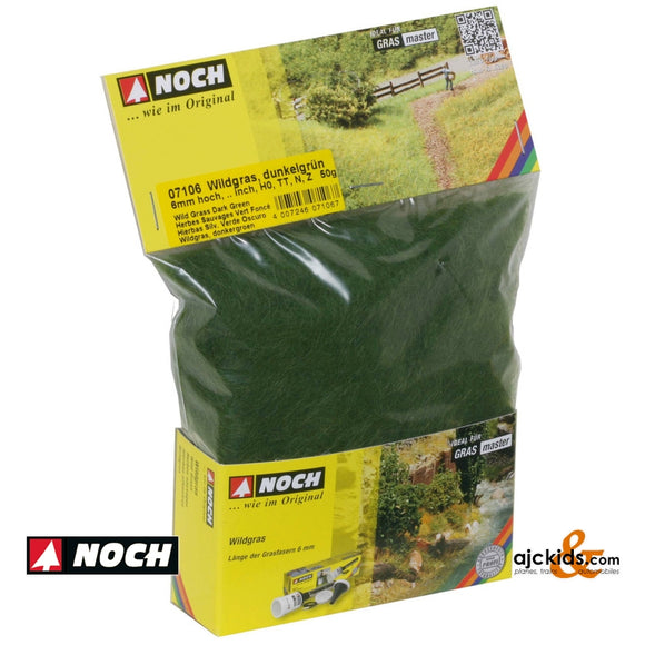 Noch 07106 - Wild Grass Dark Green 50g