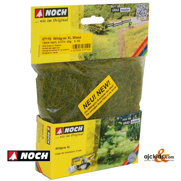 Noch 07110 - Wild Grass XL Meadow 40g