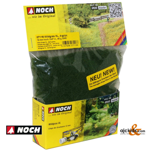 Noch 07116 - Wild Grass XL Dark Green 40g