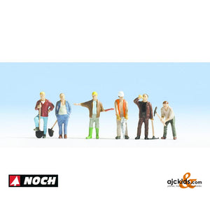 Noch 15110 - Construction Workers (6 pieces)