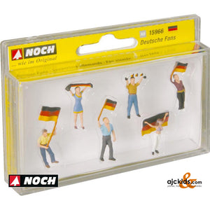Noch 15966 - German Fans (6 pieces)