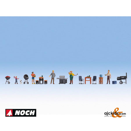 "Noch 16200 - Themed Figures Sets ""Barbecue Party"""