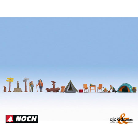 "Noch 16201 - Themed Figures Sets ""Camping"""