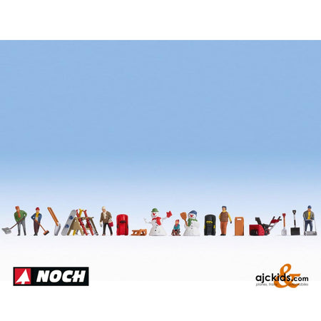 "Noch 16220 - Themed Figures Sets ""Winter's Day"""