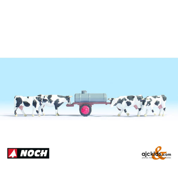 Noch 16658 - Cows At Water Trough