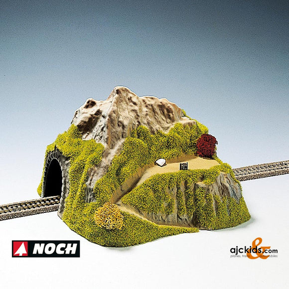Noch 34640 - Tunnel Single Track str with park