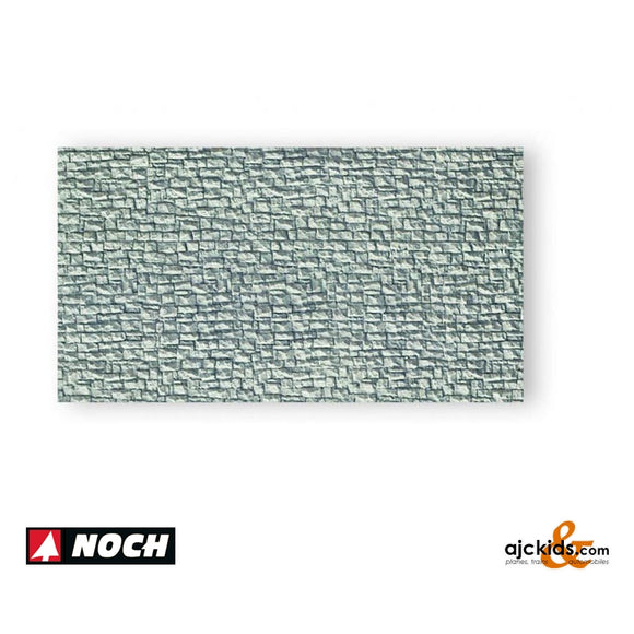 Noch 34940 - Broken Stone Wall Gray
