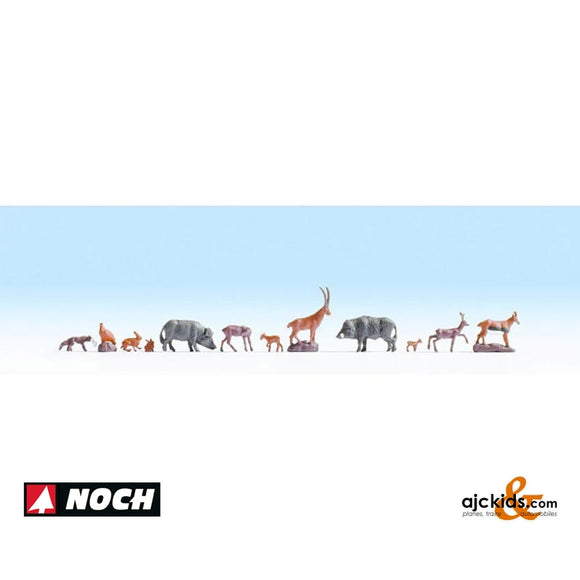 Noch 36745 - Forest Animals (9 pieces)