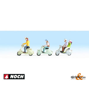 Noch 36910 - Scooters with Riders