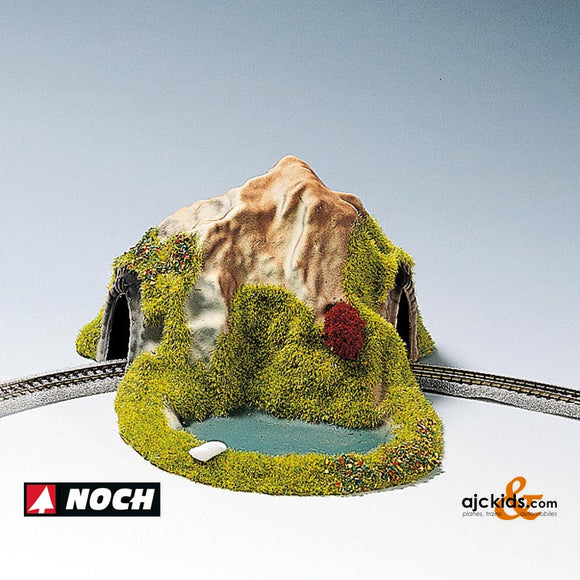 Noch 44670 - Single Track with pond curve