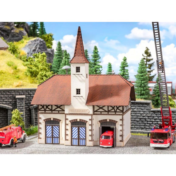 Noch 63380 - Fire Station with Sound