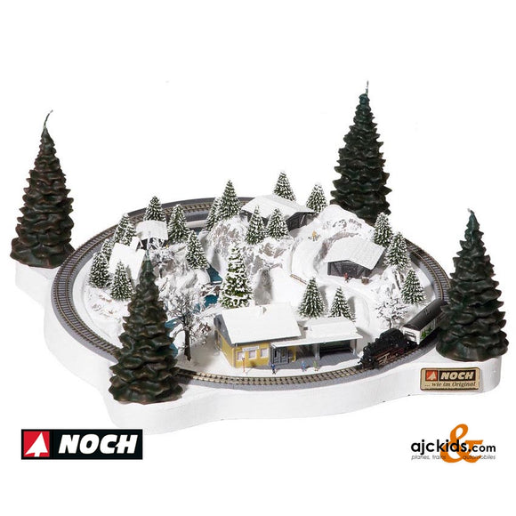 Noch 88060 - Christmas Layout with Marklin Track