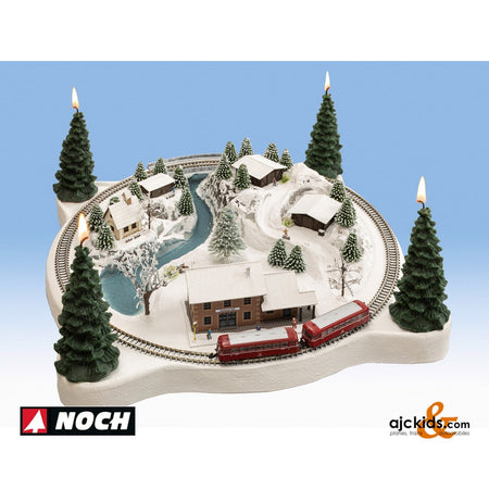 "Noch 88063 - ""Winter Magic"" Christmas Layout"