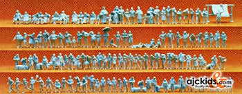 Preiser 79006 - Walking people Unpainted 125/, EAN: 404103279006