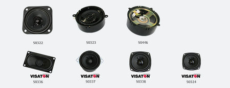 ESU 50324 - Loudspeaker Visaton FRS 7, 70mm, round, 8 Ohms, for LokSound XL V4.0