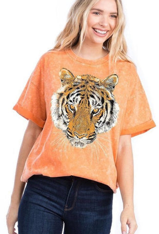 Orange Washed Tiger T
