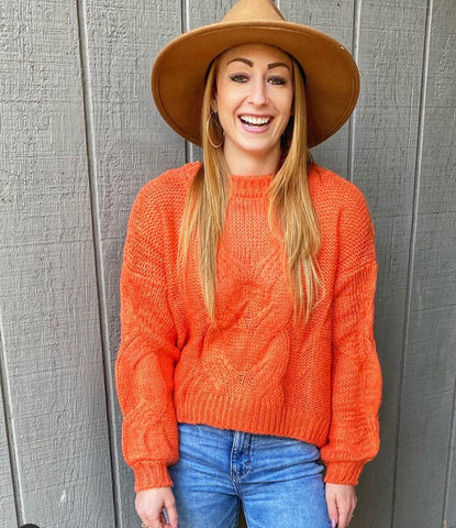 Roaring Fun Crop Sweater