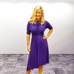 Powerful in Purple Dress