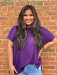 Perfect Purple Piko Top