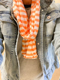 Cozy at Heart Infinity Chevron Scarf