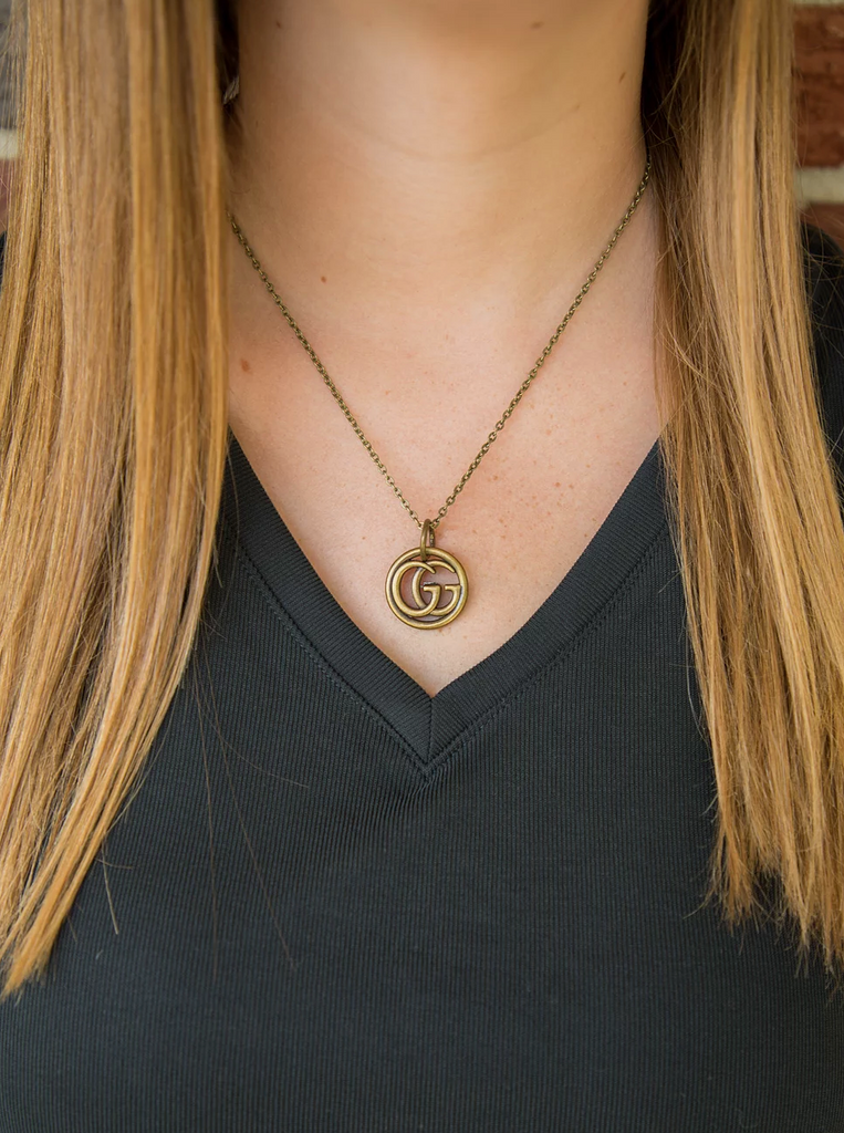 Gucci Upcycled Necklace