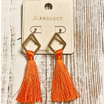 Orange You Glad To See Me Earrings