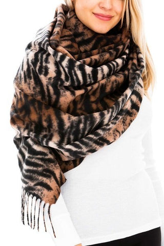 Cozy Tiger Scarf
