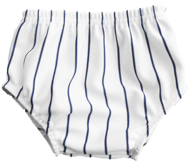 Tiny Turnip Navy Blue Infant Pinstripe Bloomers