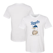 Kansas City Royals Baseball Snowman Tee Shirt