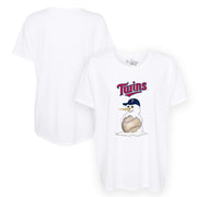 Minnesota Twins Baseball Snowman Tee Shirt