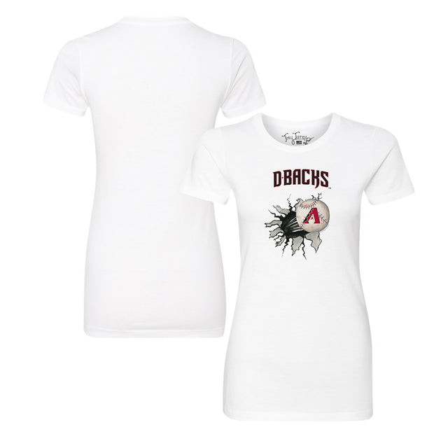 Arizona Diamondbacks Baseball Tear Tee Shirt