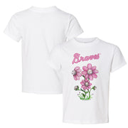 Atlanta Braves Bloomin' Baseball Tee Shirt