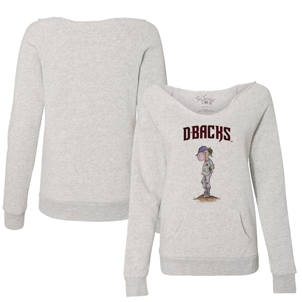 Arizona Diamondbacks Bubbles Women's Slouchy Sweatshirt