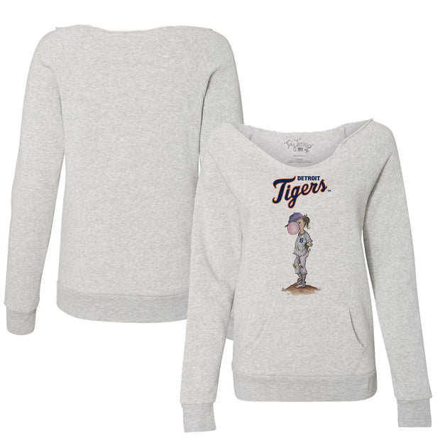 Detroit Tigers Bubbles Women's Slouchy Sweatshirt
