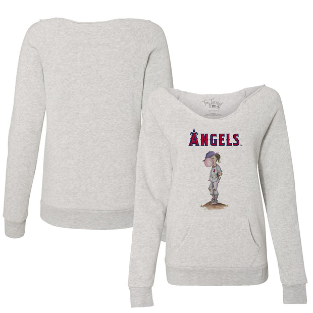 Los Angeles Angels Bubbles Women's Slouchy Sweatshirt