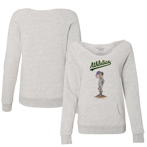 Oakland Athletics Bubbles Women's Slouchy Sweatshirt