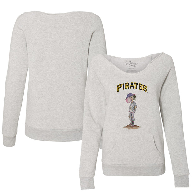 Pittsburgh Pirates Bubbles Women's Slouchy Sweatshirt