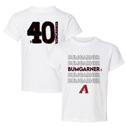 Arizona Diamondbacks Madison Bumgarner Stacked Tee Shirt