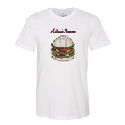 Atlanta Braves Burger Tee Shirt