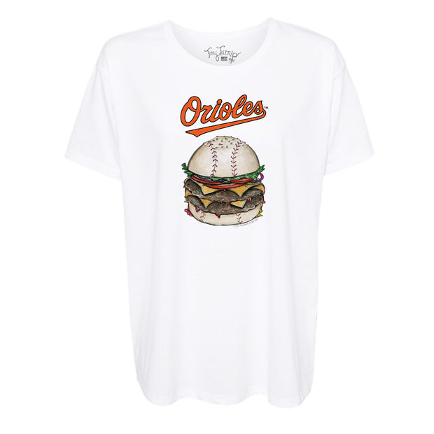 Baltimore Orioles Burger Tee Shirt