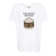 Colorado Rockies Burger Tee Shirt